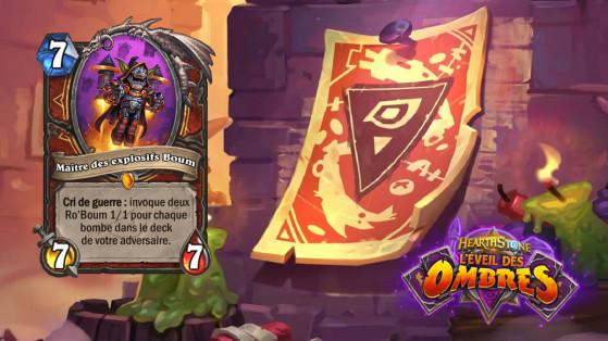 Hearthstone L'Eveil des Ombres : Maître des explosifs Boom (Blastmaster)