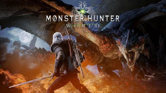 Monster Hunter World : Collaboration Witcher 3 sur PC Steam