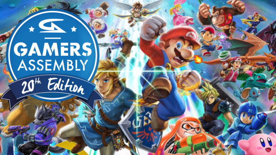 Super Smash Bros. Ultimate, SSBU : Tournoi Gamers Assembly 2019