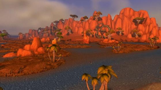 J'espère que je ne suis pas la seule à considérer que le paysage est sacrément mieux avec les marécages. - World of Warcraft