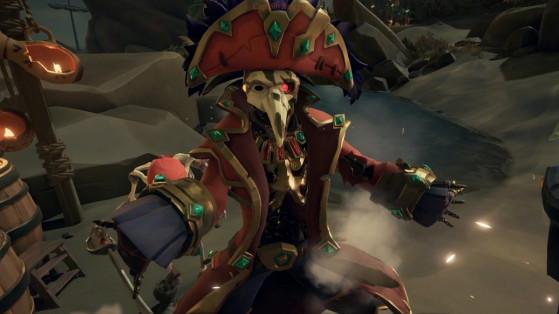 Soluce Sea of Thieves : Tall Tales, La Capitaine Maudite