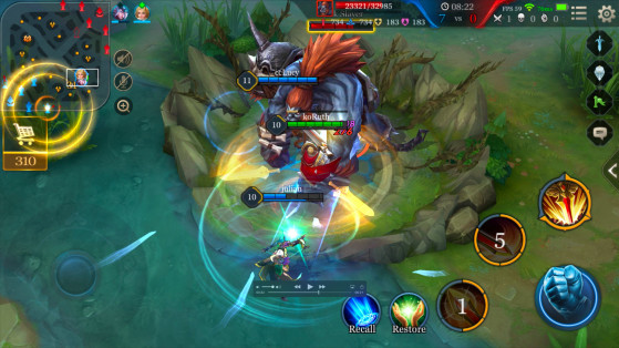 Le nashor version Arena of Valor - League of Legends