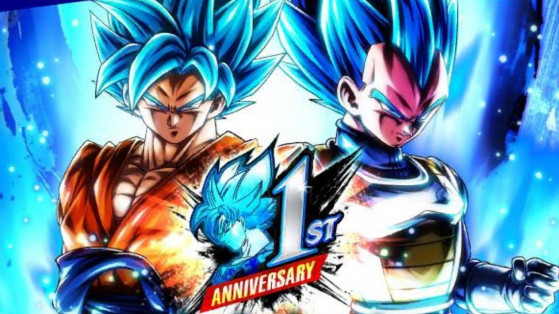 Dragon Ball Legends : anniversaire, Vegetto, Goku SSJ Blue