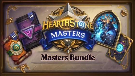 Hearthstone Esport : le Masters Bundle est disponible en boutique