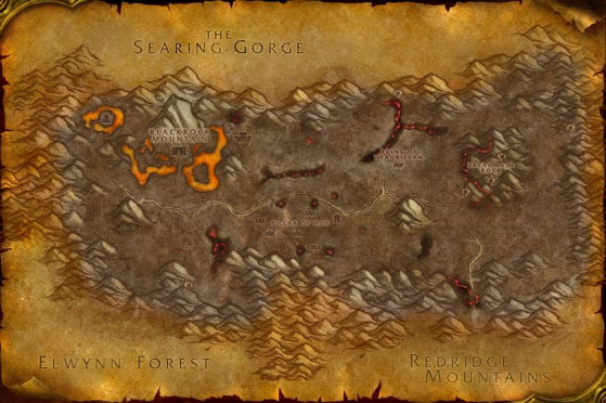 Steppes ardentes - WoW : Classic