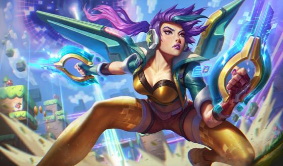 LoL - Saison 9 : Nouveaux skins Arcade Héros pour Caitlyn et Kai'Sa