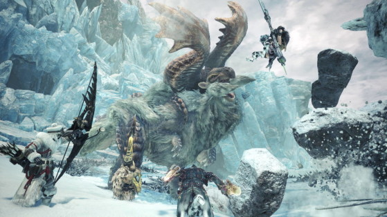 MHW Iceborne : Nouvelles attaques, armes, changements