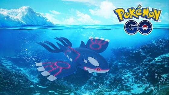 Pokemon GO : Kyogre Shiny, raid, counters