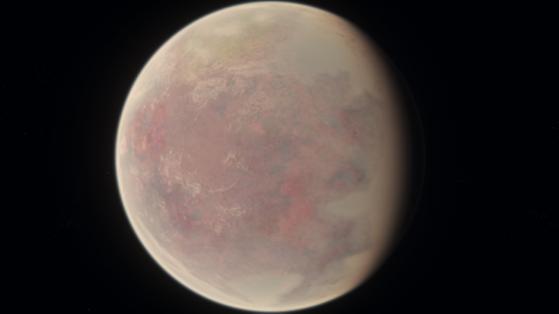 Hurston, autrefois verdoyante, est maintenant une planète désertique - Star Citizen