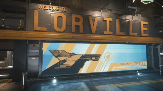 Dès votre arrivée, Lorville vous plonge déjà dans son microcosme - Star Citizen
