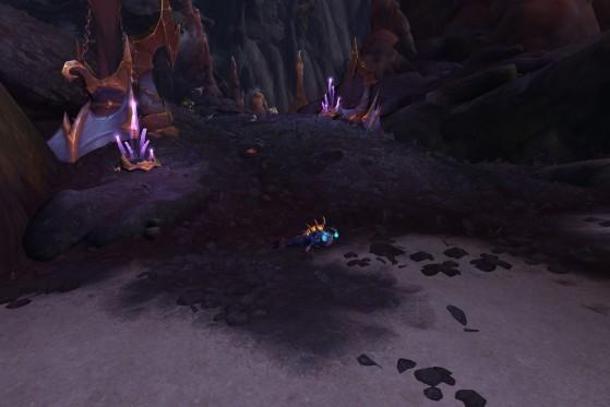 Mrrl au bord de la route longeant le camp naga - World of Warcraft