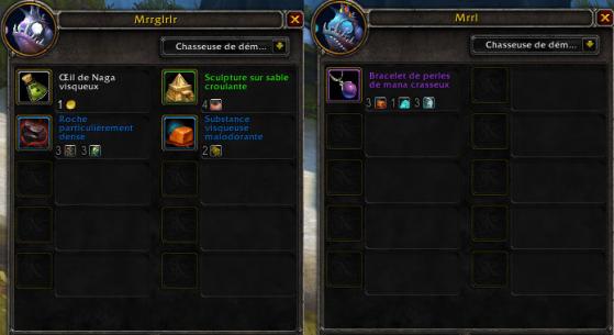 Marchandise des vendeurs murlocs sans la Cape de lève-tempête azsh'ari - World of Warcraft