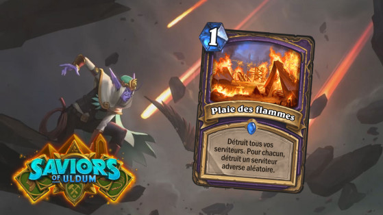 Hearthstone Aventuriers d'Uldum : Plaie des flammes (Plague of Flames)