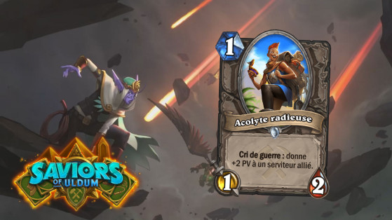 Hearthstone Aventuriers d'Uldum : Acolyte radieuse (Beaming Sidekick)