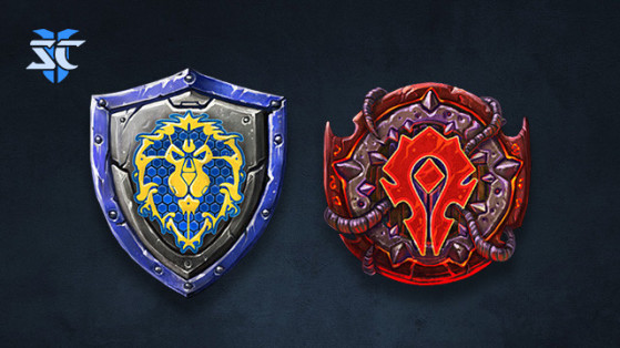 Les sprays Alliance et Horde pour StarCraft II - World of Warcraft