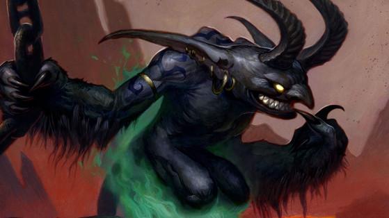 WoW Classic : Les vils quasits, Diablotin, quête Démoniste Orc