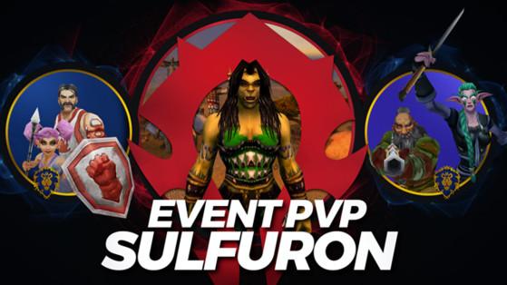 WoW Classic : Événement PvP sur Sulfuron à la Croisée par Icekei et Kao