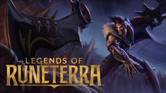 LoR - Legends of Runeterra : Draven, champion faction Noxus