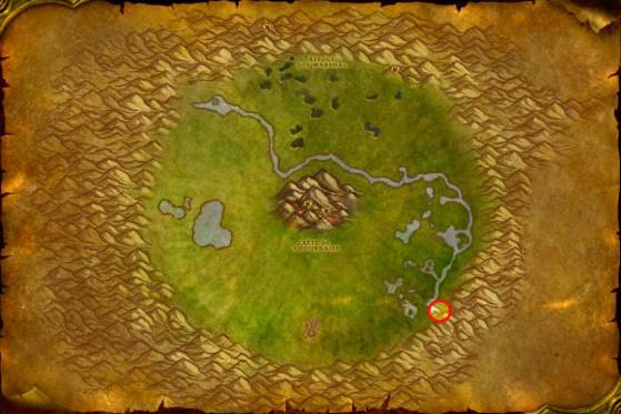 Localisation de Torwa Pathfinder - WoW : Classic