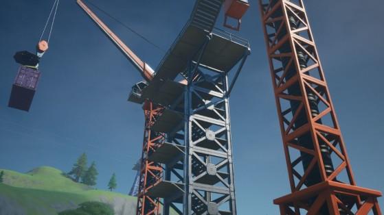 Fortnite : trouver la lettre T cachée sur l'écran de chargement Négoce au chantier naval, défi