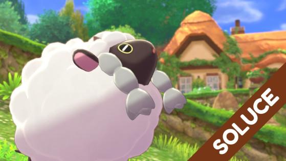 Pokemon Epee, Pokemon Bouclier : Soluce, partie 1, Paddoxton, choix du starter