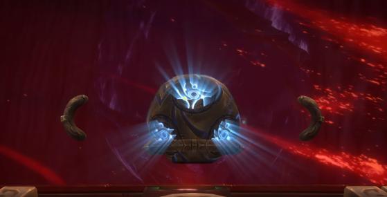L'énergie du Coeur d'Azeroth sert à détruire la prison de N'Zoth - World of Warcraft