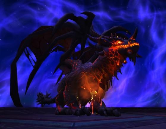 Irion l'empereur noir dans le raid Ny'alotha la cité éveillée - World of Warcraft