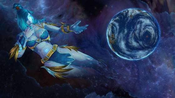 Fan art du titan Azeroth (artiste : HypnosWorld) - World of Warcraft
