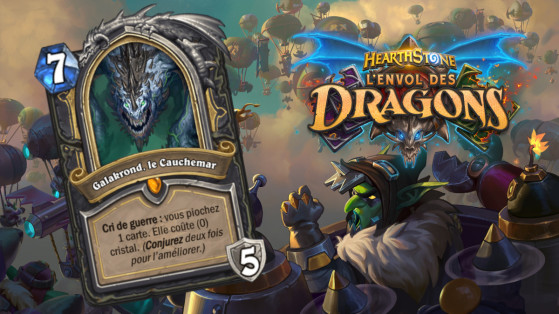Hearthstone Envol des Dragons : nouveau héros légendaire Voleur Galakrond, le Cauchemar