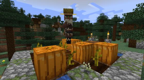 Minecraft : Villageois, reproduction et villages