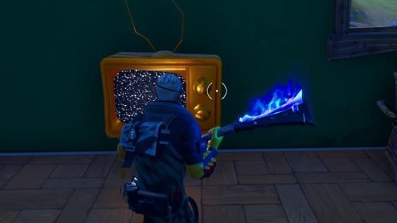 Fortnite : événement chapitre 2 saison 1, transformation d'objets en or
