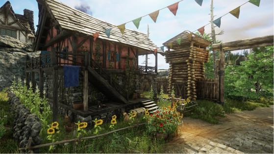 New World : le logement dans Aeternum