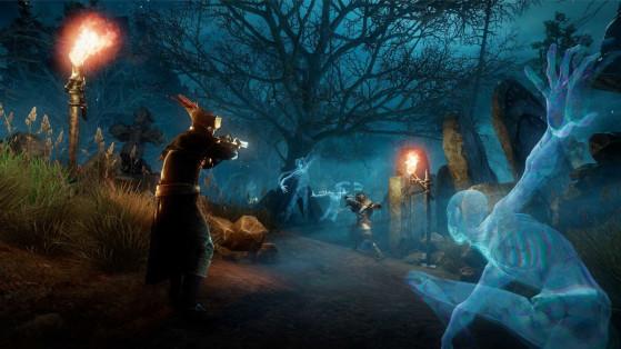 New World : gameplay, aperçus du jeu en PvE et en PvP