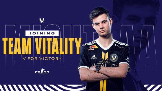 Counter-Strike : Global Offensive - Misutaaa remplace Alex chez Vitality