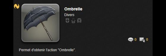 Ombrelle - Final Fantasy XIV