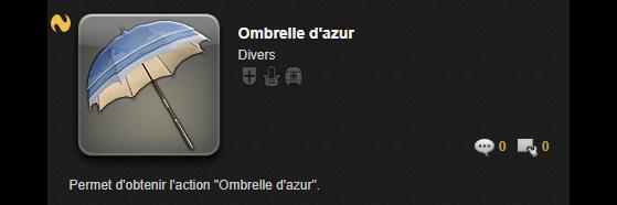 Ombrelle d'Azur - Final Fantasy XIV