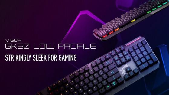 Test : Clavier Vigor GK50 Low Profile Gaming Keyboard MSi