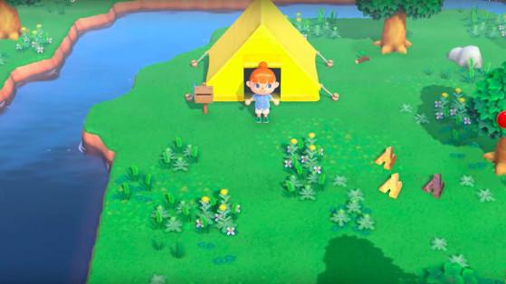 Animal Crossing New Horizons : agrandissements de la maison