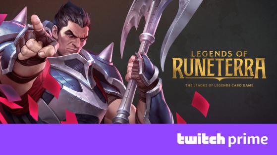 Legends of Runeterra - LoR : Débloquez un champion et d'autres récompenses avec Twitch Prime !