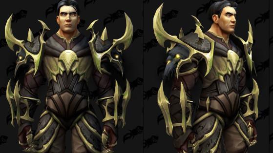 WoW Shadowlands : Modèles d'armures de l'extension