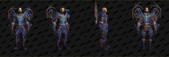 Ensemble des Faë nocturnes - World of Warcraft