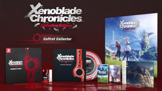 Xenoblade Chronicles Definitive Edition : l'édition collector dévoilée