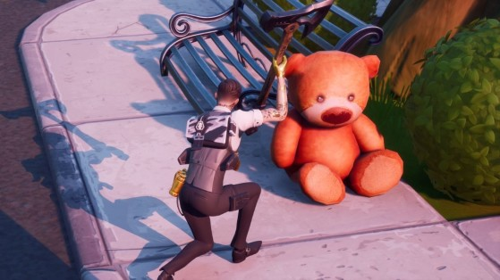Fortnite : Détruire des nounours à Holly Hedges, défi Domination Locale