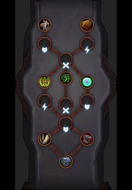 Lien d'âme de Korayn (Faë nocturne) - World of Warcraft