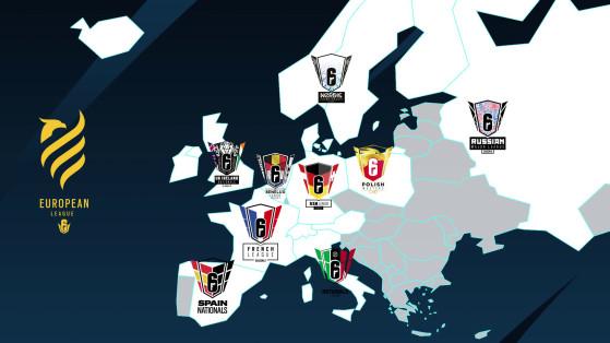 Les championnats nationaux de Rainbow Six à travers l'Europe - Rainbow Six Siege
