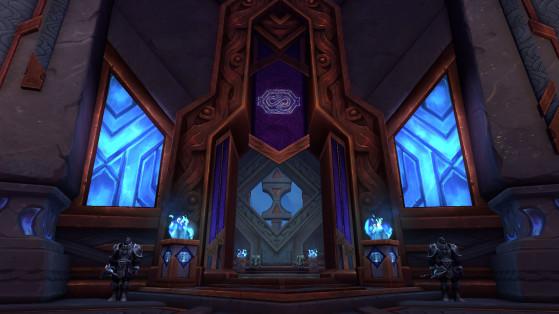 Entrée de l'Enclave - World of Warcraft