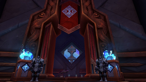 Entrée de la Salle des curiosités - World of Warcraft