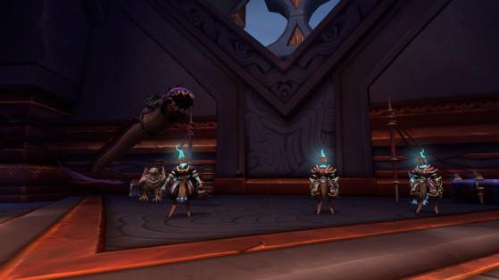 Vendeur de mascottes et Marchand de curiosités - World of Warcraft
