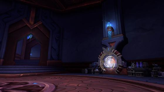 La Tanière du négociant, au sous-sol - World of Warcraft