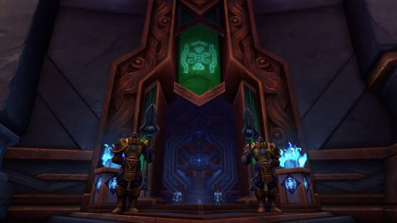 Entrée de la Salle d'attente - World of Warcraft